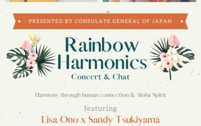 Rainbow Harmonics Concert & Chat, 01/29/2021